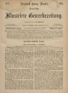 Deutsche Illustrirte Gewerbezeitung, 1874. Jahrg. XXXIX, nr 8.