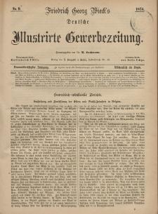Deutsche Illustrirte Gewerbezeitung, 1874. Jahrg. XXXIX, nr 9.