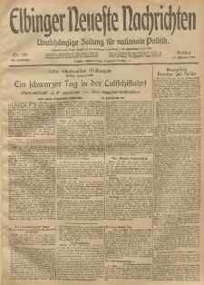 Elbinger Neueste Nachrichten, Nr. 285 Freitag 17 Oktober 1913 65. Jahrgang