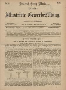 Deutsche Illustrirte Gewerbezeitung, 1874. Jahrg. XXXIX, nr 30.