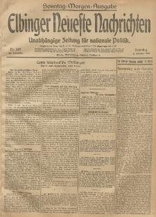 Elbinger Neueste Nachrichten, Nr. 287 Sonntag 19 Oktober 1913 65. Jahrgang
