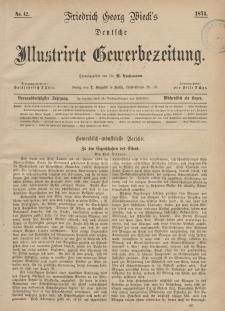 Deutsche Illustrirte Gewerbezeitung, 1874. Jahrg. XXXIX, nr 42.