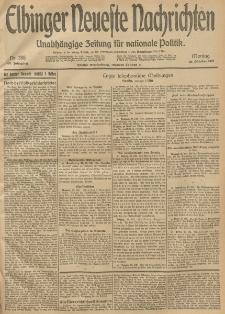 Elbinger Neueste Nachrichten, Nr. 288 Montag 20 Oktober 1913 65. Jahrgang
