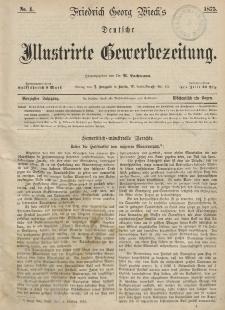 Deutsche Illustrirte Gewerbezeitung, 1875. Jahrg. XL, nr 4.