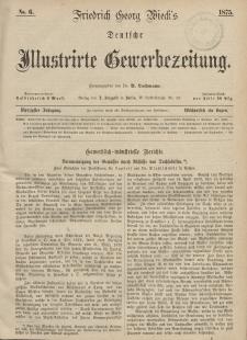Deutsche Illustrirte Gewerbezeitung, 1875. Jahrg. XL, nr 6.