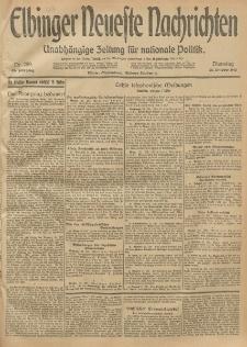 Elbinger Neueste Nachrichten, Nr. 289 Dienstag 21 Oktober 1913 65. Jahrgang
