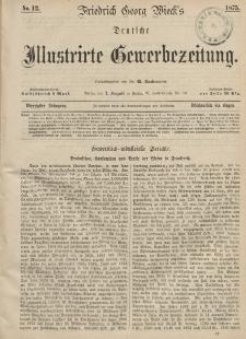 Deutsche Illustrirte Gewerbezeitung, 1875. Jahrg. XL, nr 12.