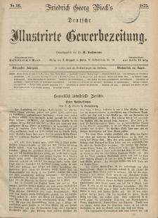 Deutsche Illustrirte Gewerbezeitung, 1875. Jahrg. XL, nr 16.