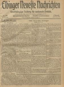 Elbinger Neueste Nachrichten, Nr. 290 Mittwoch 22 Oktober 1913 65. Jahrgang