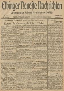 Elbinger Neueste Nachrichten, Nr. 59 Sonnabend 1 März 1913 65. Jahrgang