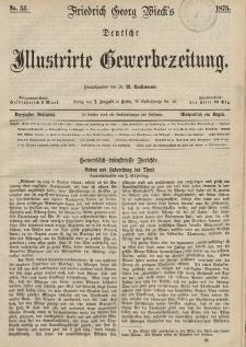 Deutsche Illustrirte Gewerbezeitung, 1875. Jahrg. XL, nr 51.