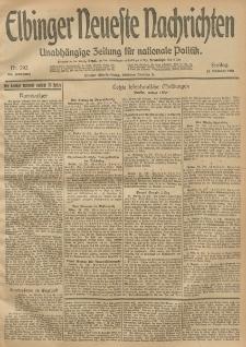 Elbinger Neueste Nachrichten, Nr. 292 Freitag 24 Oktober 1913 65. Jahrgang