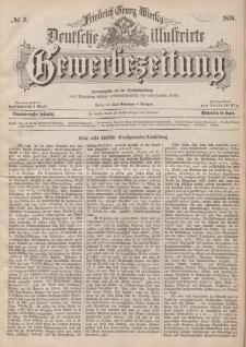 Deutsche Illustrirte Gewerbezeitung, 1876. Jahrg. XLI, nr 2.