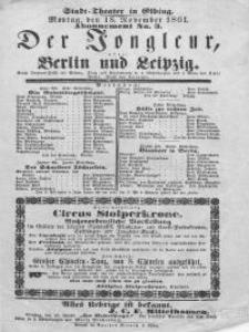 Der Jongleur, oder: Berlin und Leipzig - Emil Pohl