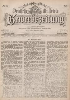 Deutsche Illustrirte Gewerbezeitung, 1876. Jahrg. XLI, nr 12.