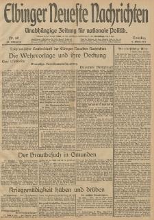 Elbinger Neueste Nachrichten, Nr. 60 Sonntag 2 März 1913 65. Jahrgang