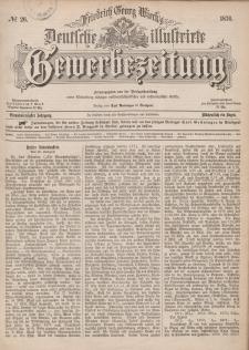 Deutsche Illustrirte Gewerbezeitung, 1876. Jahrg. XLI, nr 26.