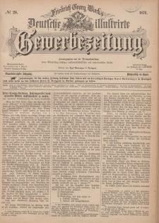 Deutsche Illustrirte Gewerbezeitung, 1876. Jahrg. XLI, nr 29.