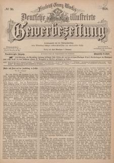 Deutsche Illustrirte Gewerbezeitung, 1876. Jahrg. XLI, nr 30.