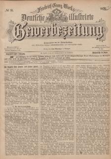 Deutsche Illustrirte Gewerbezeitung, 1876. Jahrg. XLI, nr 31.