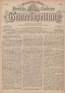 Deutsche Illustrirte Gewerbezeitung, 1876. Jahrg. XLI, nr 37.