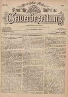 Deutsche Illustrirte Gewerbezeitung, 1876. Jahrg. XLI, nr 38.