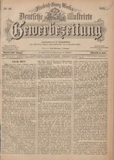 Deutsche Illustrirte Gewerbezeitung, 1876. Jahrg. XLI, nr 40.
