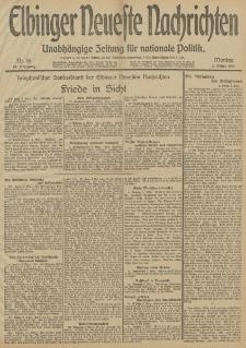 Elbinger Neueste Nachrichten, Nr. 61 Montag 3 März 1913 65. Jahrgang