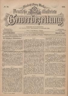 Deutsche Illustrirte Gewerbezeitung, 1876. Jahrg. XLI, nr 50.