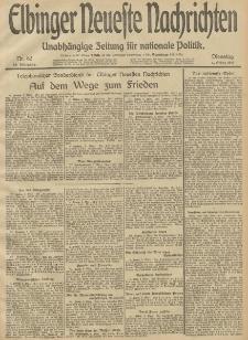Elbinger Neueste Nachrichten, Nr. 62 Dienstag 4 März 1913 65. Jahrgang
