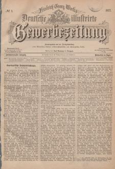 Deutsche Illustrirte Gewerbezeitung, 1877. Jahrg. XLII, nr 1.