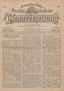 Deutsche Illustrirte Gewerbezeitung, 1877. Jahrg. XLII, nr 6.