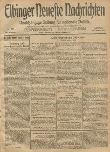 Elbinger Neueste Nachrichten, Nr. 295 Montag 27 Oktober 1913 65. Jahrgang