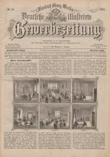 Deutsche Illustrirte Gewerbezeitung, 1877. Jahrg. XLII, nr 15.