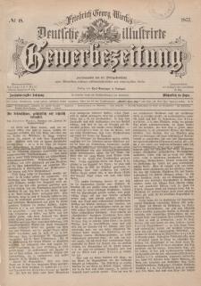 Deutsche Illustrirte Gewerbezeitung, 1877. Jahrg. XLII, nr 18.