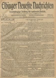 Elbinger Neueste Nachrichten, Nr. 297 Mittwoch 29 Oktober 1913 65. Jahrgang
