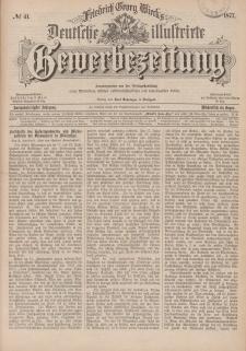 Deutsche Illustrirte Gewerbezeitung, 1877. Jahrg. XLII, nr 41.