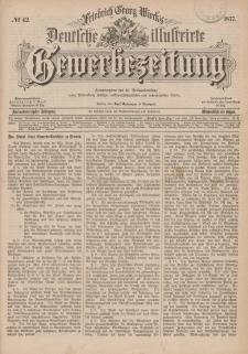 Deutsche Illustrirte Gewerbezeitung, 1877. Jahrg. XLII, nr 42.