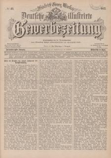 Deutsche Illustrirte Gewerbezeitung, 1877. Jahrg. XLII, nr 43.