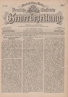 Deutsche Illustrirte Gewerbezeitung, 1877. Jahrg. XLII, nr 44.