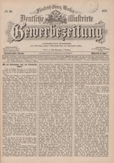 Deutsche Illustrirte Gewerbezeitung, 1877. Jahrg. XLII, nr 46.