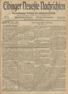 Elbinger Neueste Nachrichten, Nr. 298 Donnerstag 30 Oktober 1913 65. Jahrgang