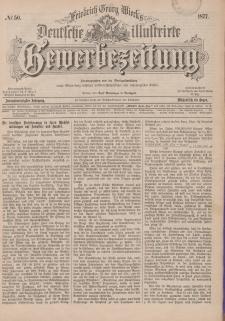 Deutsche Illustrirte Gewerbezeitung, 1877. Jahrg. XLII, nr 50.