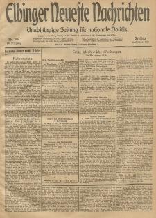 Elbinger Neueste Nachrichten, Nr. 299 Freitag 31 Oktober 1913 65. Jahrgang
