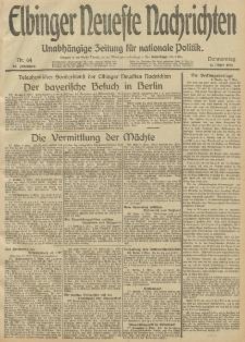 Elbinger Neueste Nachrichten, Nr. 64 Donnerstag 6 März 1913 65. Jahrgang