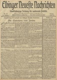 Elbinger Neueste Nachrichten, Nr. 65 Freitag 7 März 1913 65. Jahrgang