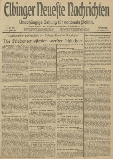 Elbinger Neueste Nachrichten, Nr. 68 Montag 10 März 1913 65. Jahrgang