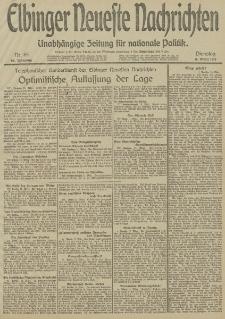 Elbinger Neueste Nachrichten, Nr. 69 Dienstag 11 März 1913 65. Jahrgang