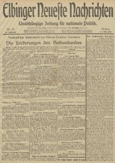 Elbinger Neueste Nachrichten, Nr. 72 Freitag 14 März 1913 65. Jahrgang