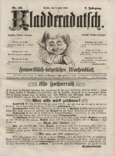 Kladderadatsch, 7. Jahrgang, 9. Juli 1854, Nr. 32